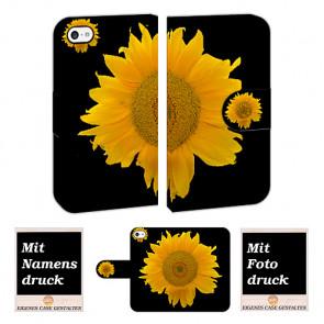 iPod Touch 4 Sonnenblumen  Handy Tasche Hülle Foto Bild Druck