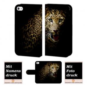 iPod Touch 4 Tiger Handy Tasche Hülle Foto Bild Druck