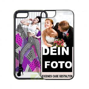 2D Hülle für iPhone 5, 5S, SE Hard - Hülle mit Foto und Text zum selbst gestalten.