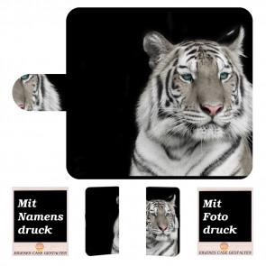 iPhone 8 Personalisierte Handy Tasche Hülle mit Tiger + Foto Druck