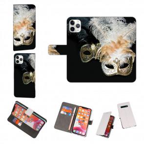 iPhone 11 Pro Max Schutzhülle Handy Hülle mit Fotodruck Venedig Maske