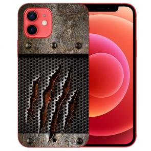 Silikon TPU Case Handyhülle mit Bilddruck Monster-Kralle für iPhone 12