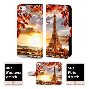 iPhone 5 / 5S / SE Eiffelturm Handy Tasche Hülle Foto Bild Druck