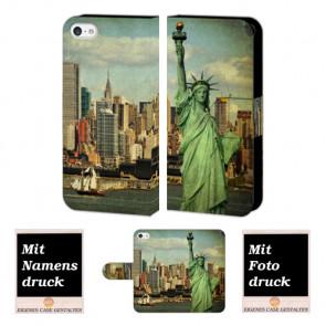 iPhone 5 / 5S / SE Freiheitsstatue Handy Tasche Hülle Foto Bild Druck