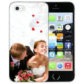 iPhone 5/5S/SE Silikon TPU mit Foto Namen Bilddruck