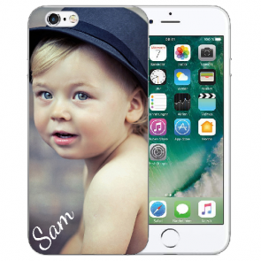 iPhone 6/6S Silikon TPU Schutzhülle mit Foto Namendruck Bilddruck