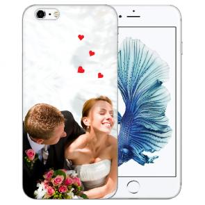 iPhone 6+/ 6S Plus Silikon TPU mit Foto Namen Druck  Bilddruck