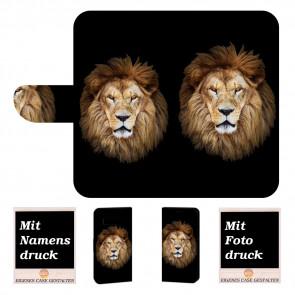 Individuelle Handyhülle für Samsung Galaxy S10 mit Löwe Fotodruck Text