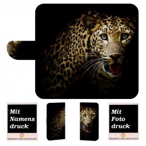 Samsung Galaxy Note 10 Plus Handy Hülle mit Leopard Bilddruck
