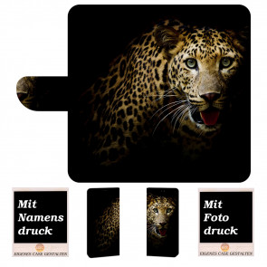 Sony Xperia XA3 Ultra Personalisierte Handyhülle mit Leopard + Fotodruck
