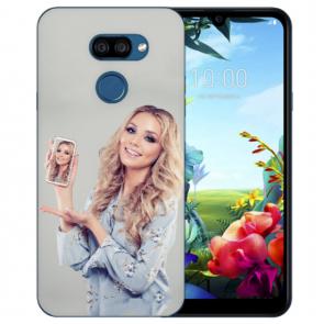 Personalisierte Handyhülle für LG K40s Silikon TPU Case mit Bilddruck