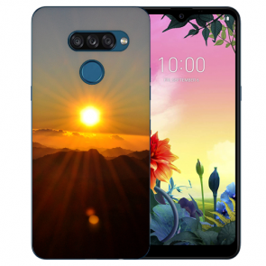 individuelle Schutzhülle mit Foto Bild für LG K50s Sonnenaufgang