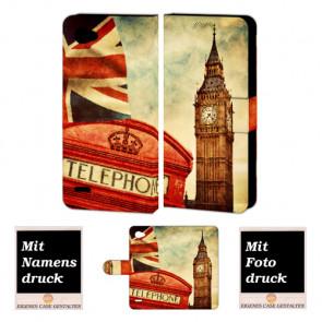 LG Q6 Personalisierte Handyhülle mit Big Ben-Uhrturm London Foto selbst gestalten