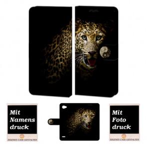 LG Q6 Personalisierte Handyhülle mit Tiger Foto Bild Druck selbst gestalten