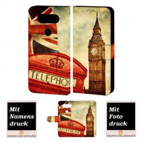 LG Q8 Personalisierte Handyhülle mit Big Ben-Uhrturm London Foto selbst gestalten