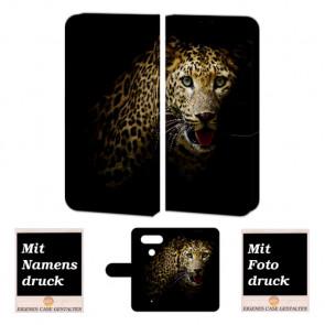 LG Q8 Smartphonehülle mit Tiger und eigenem Foto Druck selbst gestalten