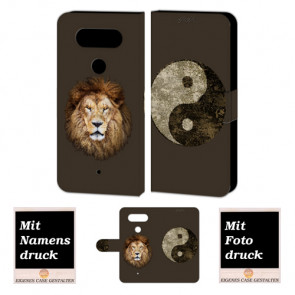 LG G5 Individuelle Handy Tasche mit Yin Yang- Löwe + Fotodruck