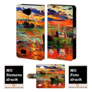 LG Joy H220 Gemälde Handy Tasche Hülle Foto Bild Druck