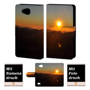 LG Joy H220 Sonnenaufgang Handy Tasche Hülle Foto Bild Druck