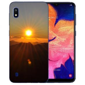 individuelle Schutzhülle mit Foto Bild Sonnenaufgang für LG K20 (2019)