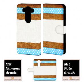 LG G4 Muster Handy Tasche Hülle Foto Bild Druck