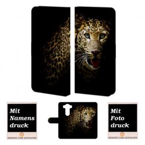LG G4 Tiger Handy Tasche Hülle Foto Bild Druck