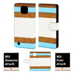 LG X Com Muster Handy Tasche Hülle Foto Bild Druck