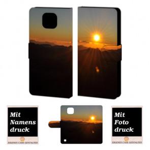 LG X Com Sonnenaufgang Handy Tasche Hülle Foto Bild Druck