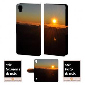 LG Optimus L9 Sonnenaufgang Handy Tasche Hülle Foto Bild Druck