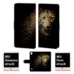 LG X Style Tiger Handy Tasche Hülle Foto Bild Druck
