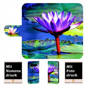 Samsung Galaxy S10 Individuelle Handyhülle mit Lotosblumen Fotodruck