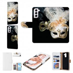 Samsung Galaxy S21 Plus Handyhülle mit Bilddruck Venedig Maske