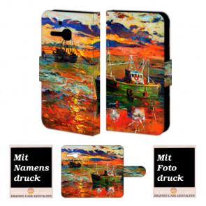 Alcatel One Touch MPop OT- 5020 Gemälde Handy Tasche Hülle Foto Bild Druck