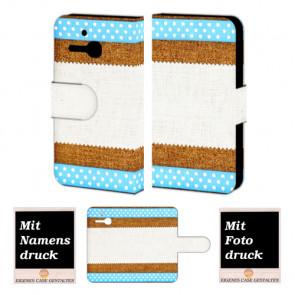 Alcatel One Touch MPop OT- 5020 Muster Handy Tasche Hülle Foto Bild Druck