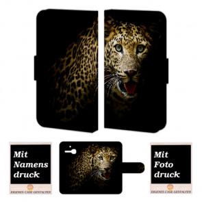 Alcatel One Touch MPop OT- 5020 Tiger Handy Tasche Hülle Foto Bild Druck
