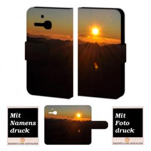 Alcatel One Touch MPop OT- 5020 Sonnenaufgang Handy Tasche Hülle Foto Bild Druck