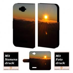 Alcatel C7 Sonnenaufgang Handy Tasche Hülle Foto Bild Druck