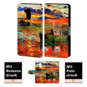 Huawei Honor 6A Personalisiert Handy Hülle mit Fotodruck Gemälde