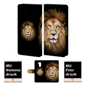 Huawei Honor 6A Individuelle Handyhülle mit Löwe Bilddruck Text