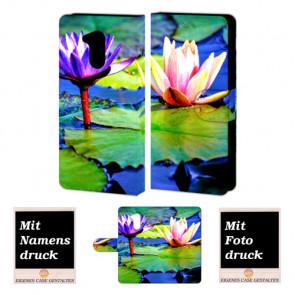 Huawei Honor 6A Individuelle Handyhülle mit Lotosblumen + Fotodruck