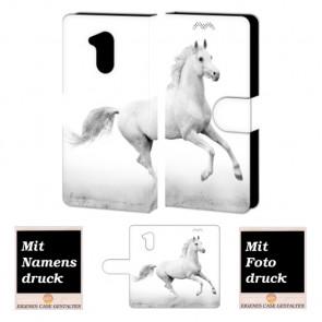 Huawei Honor 6A Handyhülle mit Foto Bild Druck zum selbst gestalten Pferd