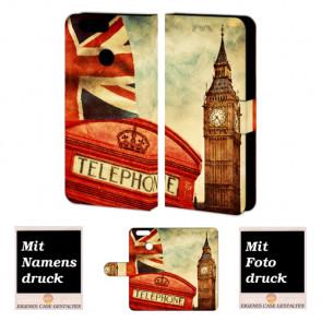 Huawei Nova 2 Handyhülle mit Foto Bild Druck zum selbst gestalten Big Ben-Uhrturm London