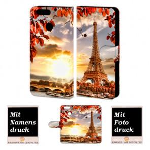 Huawei Nova 2 Handy Tasche selbst gestalten mit eigenem Foto Eiffelturm