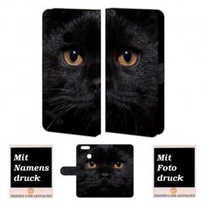 Huawei Nova 2 Plus Handyhülle selbst gestalten mit eigenem Foto Schwarz Katze