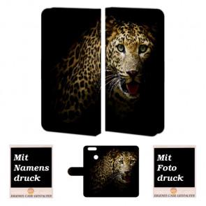 Huawei Nova 2 Plus Handy Tasche selbst gestalten mit eigenem Foto Tiger