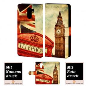 Handyhülle für Huawei Y7/ Y7 Prime mit Big Ben-London Bilddruck