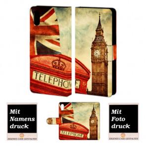 iPhone X Handyhülle selbst gestalten mit eigenem Foto Big Ben-Uhrturm London