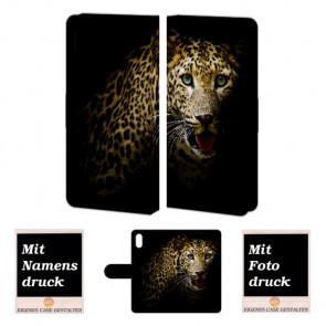 iPhone X Handyhülle mit Foto Bild Druck zum selbst gestalten Tiger