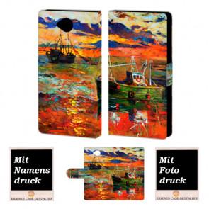 Microsoft Lumia 650 Gemälde Handy Tasche Hülle Foto Bild Druck