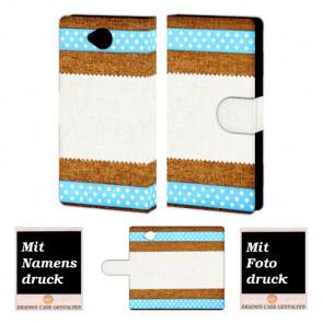 Microsoft Lumia 650 Muster Handy Tasche Hülle Foto Bild Druck